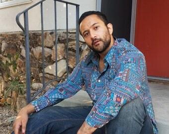 Pretty Pimpin Egyptian-Southwest Disco Shirt
