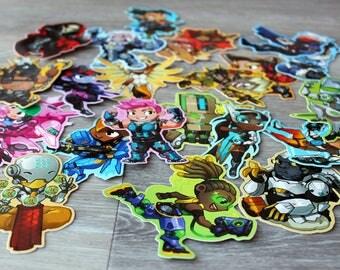 Overwatch Stickers Part1