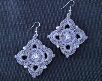 Crochet earrings Handmade earrings