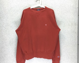 Rare!! Vintage Champion Sweatshirt// Small Logo// Champion nicely