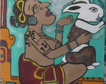 Mayan Moon Goddess, Ix Chel