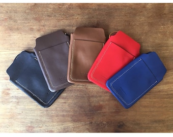 genuine leather moblecase mobilebag mobilepouch