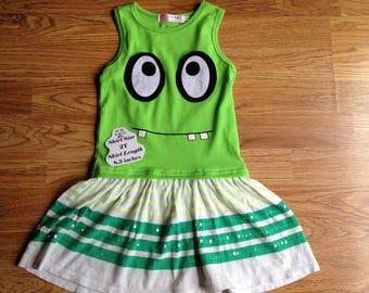 2T Monster Dress