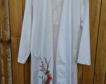Amazing Embroidered Cotton Kaftan/Robe