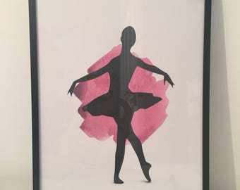 Ballerina prints 3 options