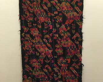 Mayan Embrodered Wall Hanging
