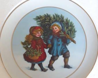 Avon 1981 Christmas Plate