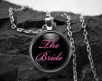 Bride wedding Glass Pendant wedding gift necklace wedding jewelry wedding party gift photo pendant photo jewelry  glass jewelry