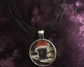 Christmas gizmo necklace