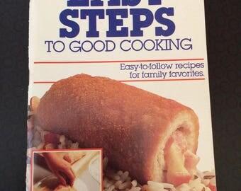 Vintage Pillsbury Easy Steps to Good Cooking Cookbook- 1985
