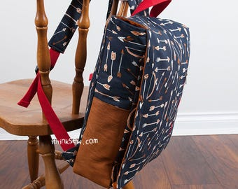 1281 Ruther Backpack PDF Sewing Pattern