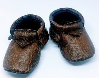 Baby moccasins - super soft