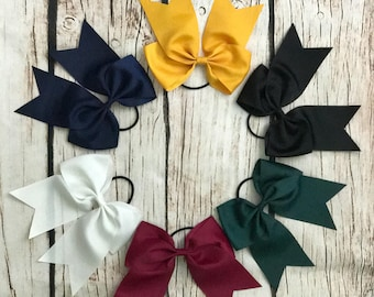Pony Club Bows| Horse Bows| Equestrian Accessories| Cheer Bows| Large Bows| Event Bows| Competition Bows