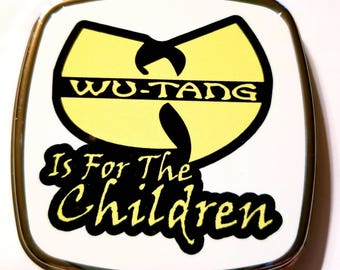 Wu-tang Is For the Children compact pocket mirror