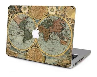World map vintage etsy world navigation map vintage vinyl sticker skin decal cover top case for apple macbook pro gumiabroncs Image collections