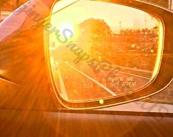 Reflection Photography Print