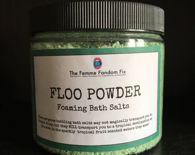 Floo Powder Bubbling Bath Salts