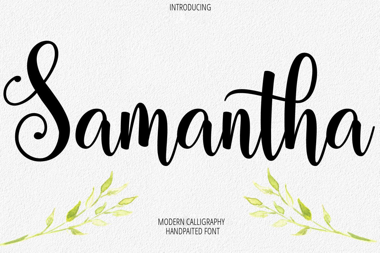 Digital font Calligraphy Handwritten Script Wedding ...