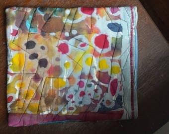 Batik phone bag