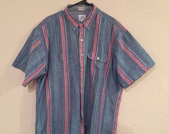Vintage Chaps by Ralph Lauren short sleeve button down