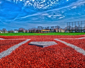 High Dynamic Range Baseball Field Print. FREE SHIPPING!!!