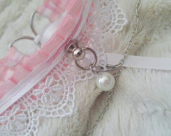 Lace and Chain Day Collar