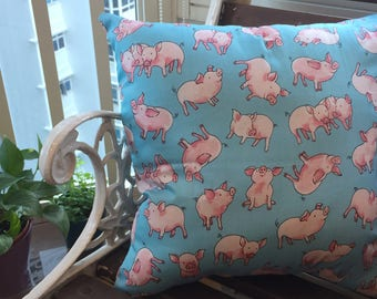 You Loved Babe But You Preferred Bacon (A cushion to accentuate your nightmares & dreamscapes).