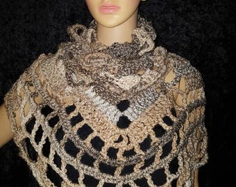 Gorgeous multiwear handmade shawl