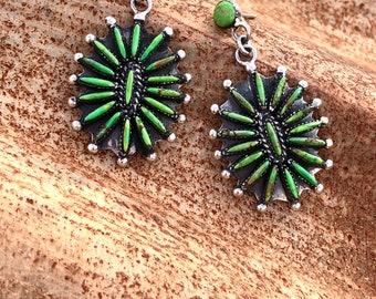 Petty point earrings