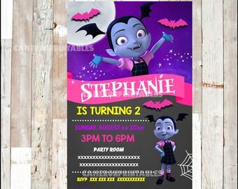 Vampirina Invitation, Printable Vampirina party invitation, Vampirina Birthday invitation