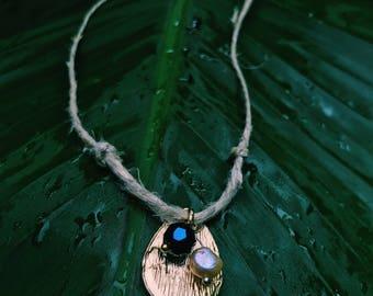 Summer Blue Pearl Choker