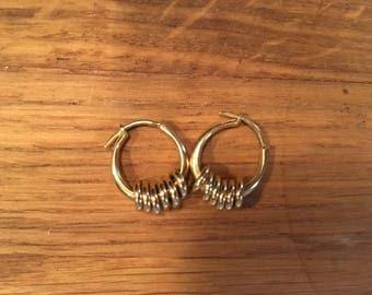 Links Of London Gold Plated Earrings