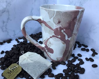 Marbled Coffee Cup