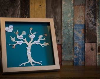 Family tree. A present with a personal touch. Family and pets.
