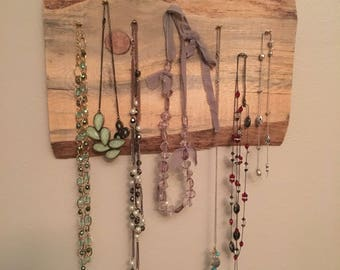 Rustic Necklace Holder