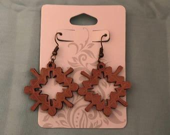 3D Printed Quatrefoil Earrings