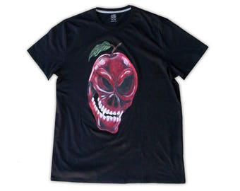 Poison Apple Skull T-Shirt