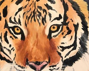 8x10 Tiger print