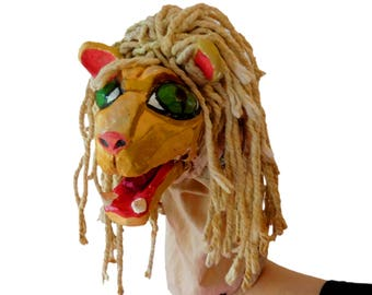 Lion Hand Puppet - Midsummer Night's Dream - Play within a Play