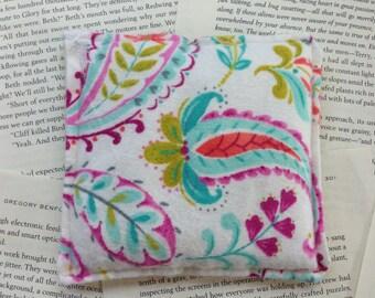 Small Rice Bag - Pink Paisley Pattern