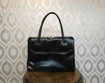 Vintage black Kelly bag