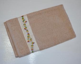 Embellished Hand Towel