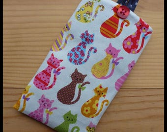 I-Phone case, phone cell 'my little cats'