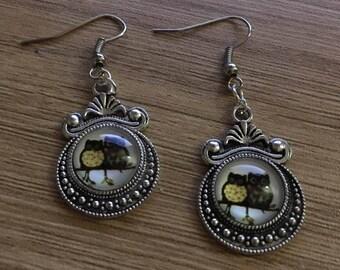 """""""OWL"""" earrings"""