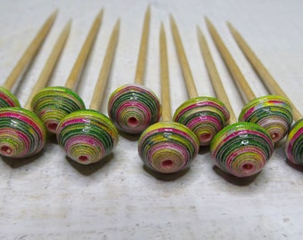 "Paper beads ""Elisa"" handmade, unique designs."