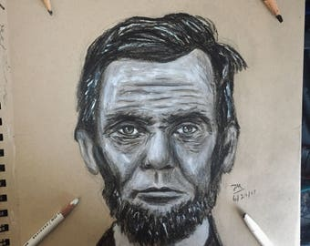 Original Abe Lincoln Drawing
