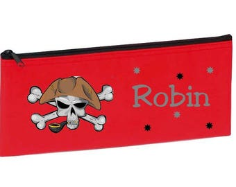 Red Pirate personalized with name package