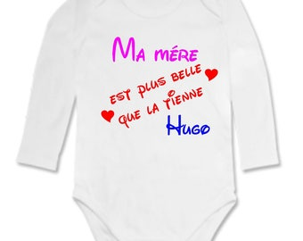 My mother Bodysuit is more beautiful... personalized with name