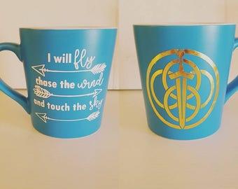 Brave Quote Mug