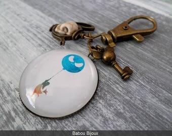 Personalized Keychain Cap 3cm